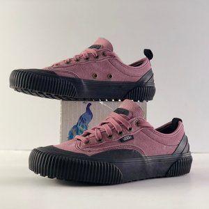 Vans Destruct SF Nostalgia Rose/Black Sole Shoes